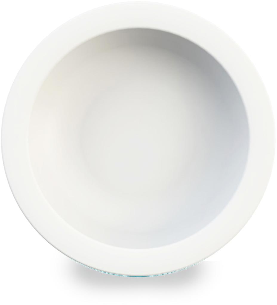 WACA Suppenteller, (Set, 4 St.), Ø 21,6 cm, Kunststoff weiß Teller Geschirr, Porzellan Tischaccessoires Haushaltswaren Suppenteller