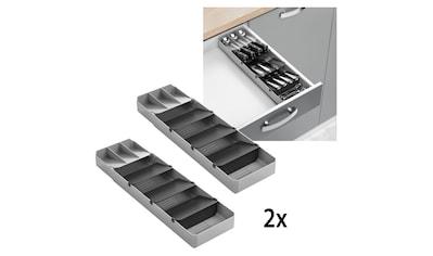 Metaltex Schubladeneinsatz, ausziehbar, für bis zu 90 Besteckteile kaufen