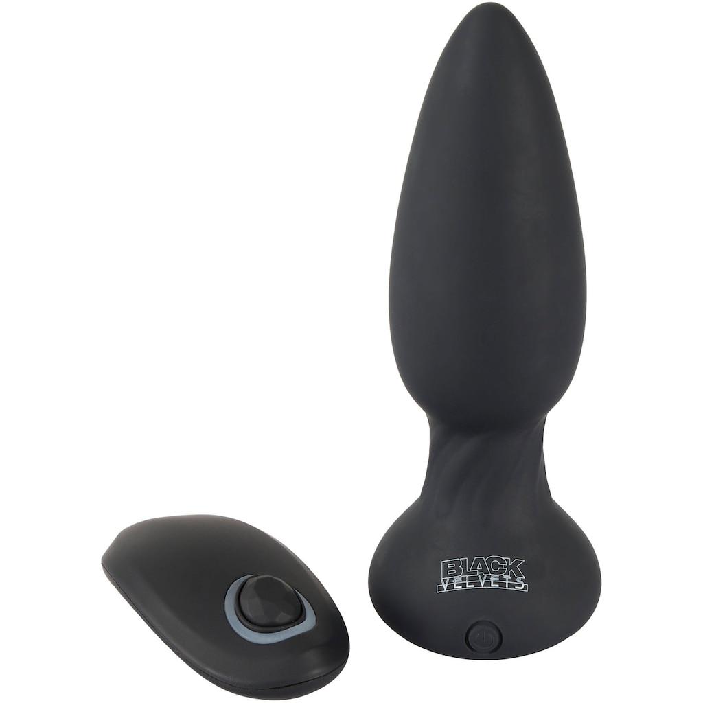 BLACK VELVETS Analplug »Shaking Plug«