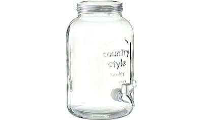 Zeller Present Getränkespender Country - Style kaufen