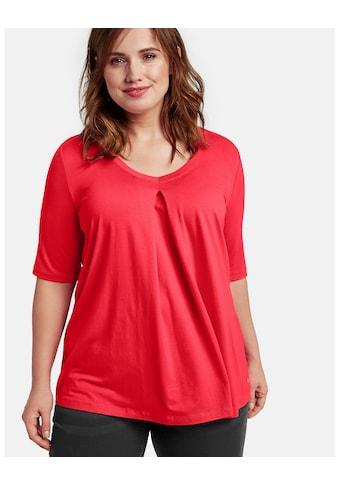 Samoon T - Shirt Kurzarm Rundhals »T - Shirt in A - Linie« kaufen