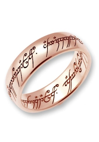 Der Herr der Ringe Goldring »Der Eine Ring - Rotgold, 10004077, 10004078, 10004079«, Made in Germany kaufen