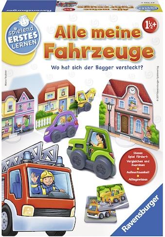 Ravensburger Spiel »Alle meine Fahrzeuge«, Made in Europe kaufen