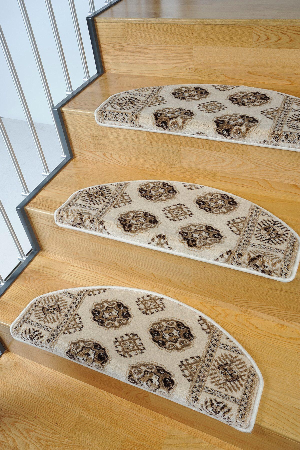 Stufenmatte Klassiko 1 Living Line stufenförmig Höhe 13 mm maschinell getuftet