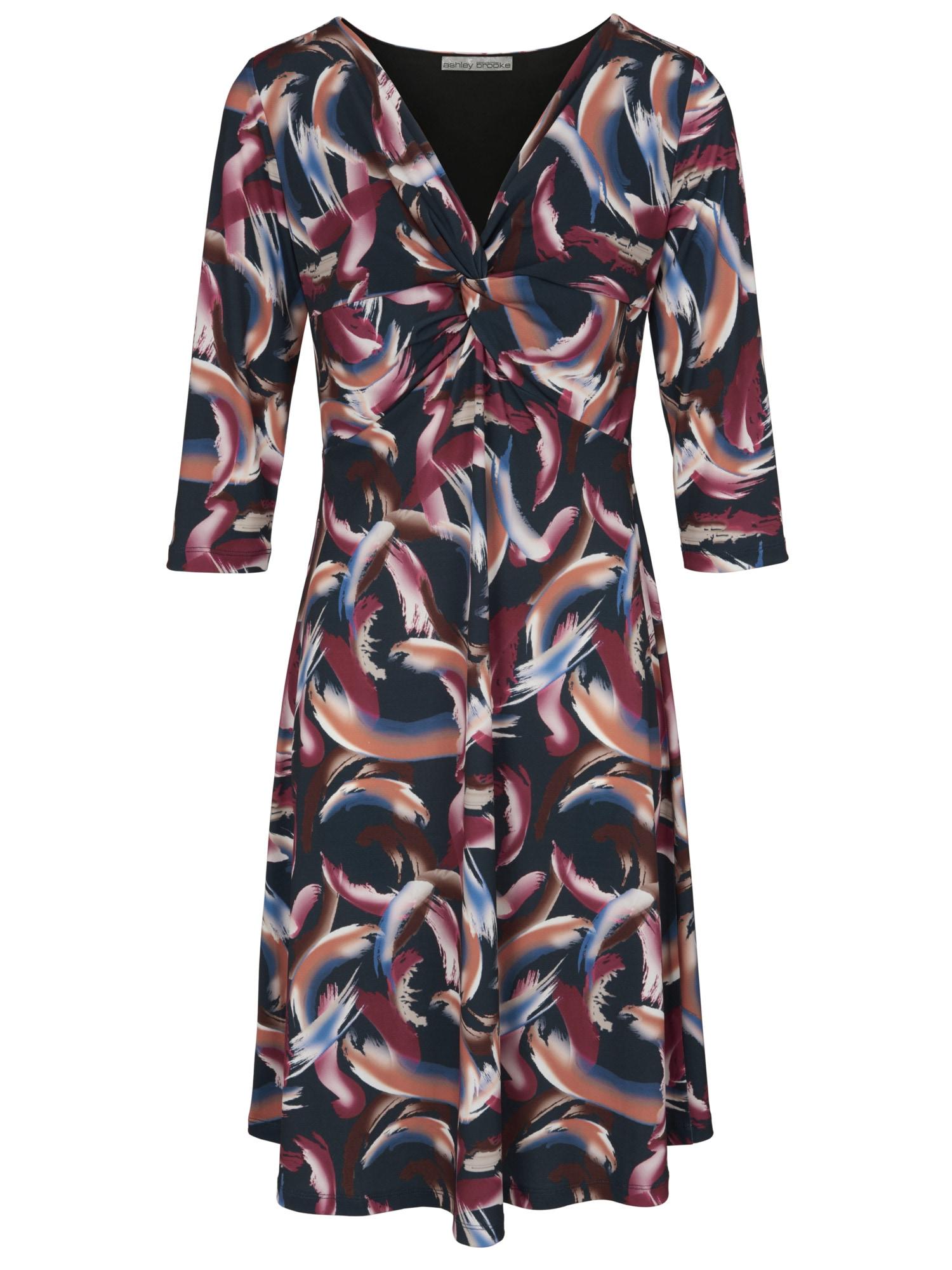 heine TIMELESS Jerseykleid mit Knoten-Optik