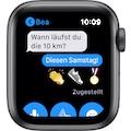 Apple Watch »Nike Series 6 GPS, Aluminiumgehäuse mit Nike Sportarmband 40mm«, (Watch OS inkl. Ladestation (magnetisches Ladekabel)