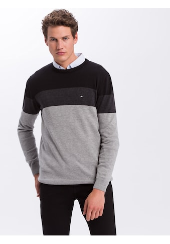 Cross Jeans® Strickpullover »34221«, Trendstarkes Colorblocking kaufen