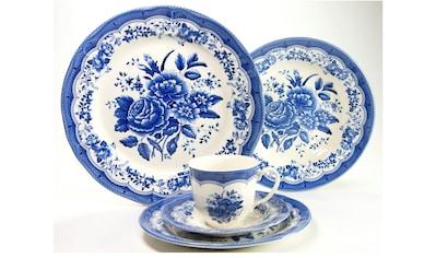 "CreaTable Kombiservice ""Victorian Blue"" (30 - tlg.), Steingut kaufen"