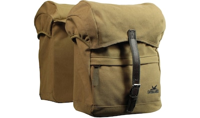 GREENLANDS BICYCLE BAGS Fahrradtasche »Greenlands Doppel Tasche Travel Canvas« kaufen