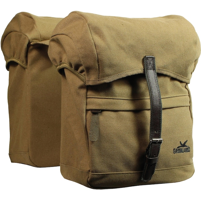 GREENLANDS BICYCLE BAGS Fahrradtasche »Greenlands Doppel Tasche Travel Canvas«