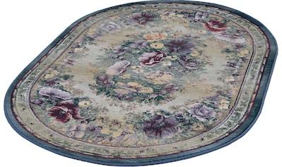 Teppich, »Gabiro 72«, THEKO, oval, Höhe 12 mm, maschinell gewebt kaufen