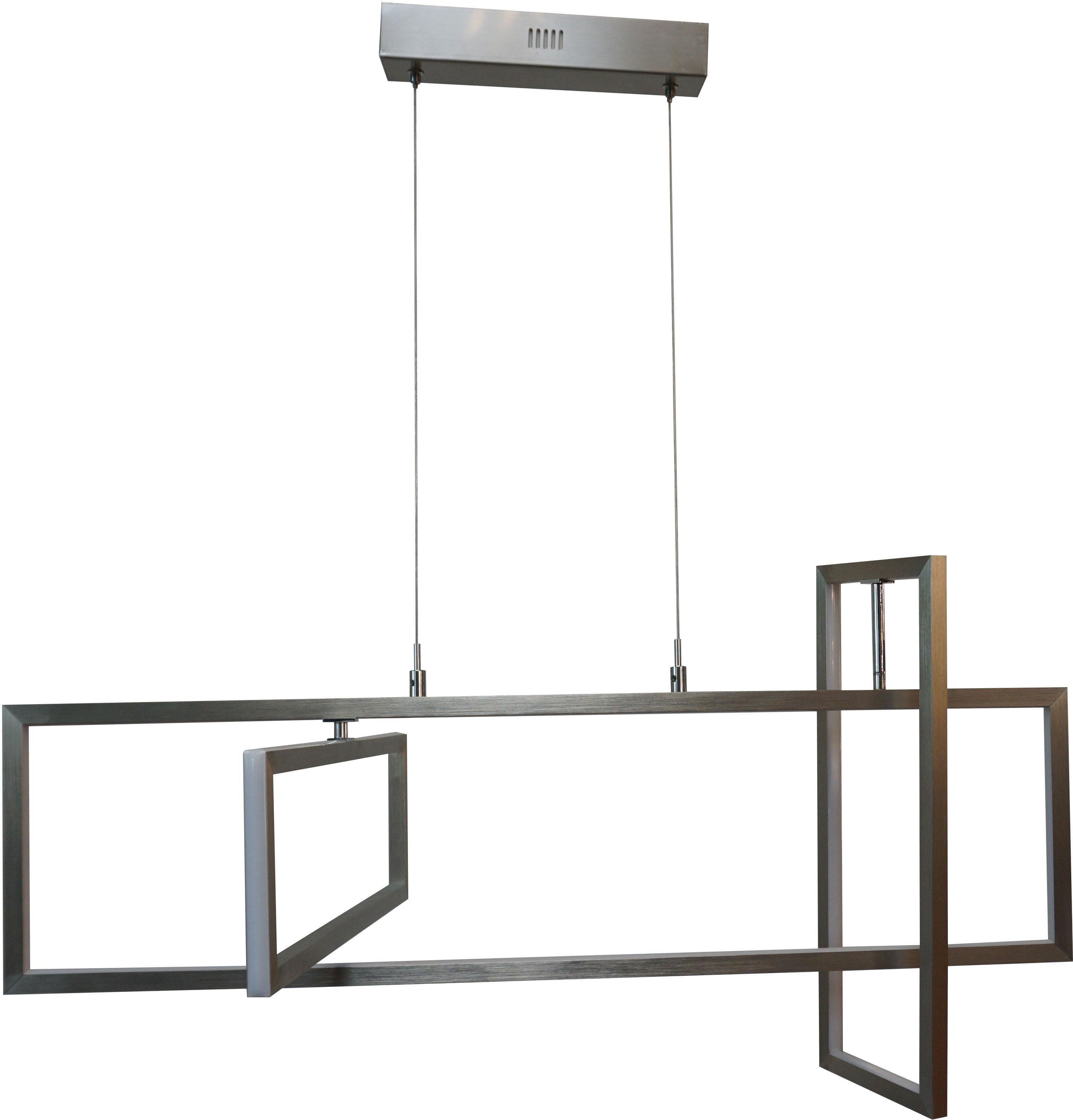 WOFI Pendelleuchte FIONA, LED-Board, Warmweiß, Hängeleuchte, Hängelampe