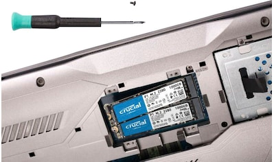 Crucial »P1 SSD 1TB, CT1000P1SSD8 PCIe M.2« SSD kaufen