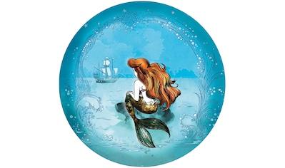 Komar Fototapete »Ariel Dreaming«, bedruckt-Comic-Retro-mehrfarbig, BxH: 128x128 cm,... kaufen