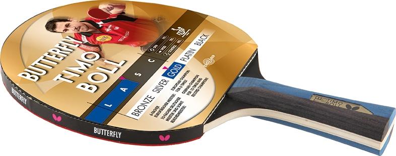 Butterfly Tischtennisschläger TIMO BOLL GOLD Technik & Freizeit/Sport & Freizeit/Sportarten/Tischtennis/Tischtennis-Ausrüstung