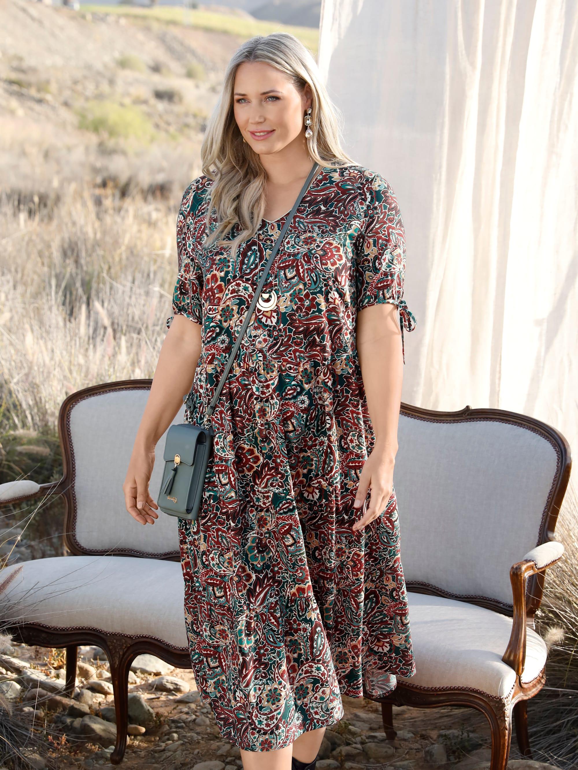 miamoda -  Sommerkleid, mit floralem Muster