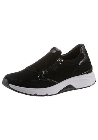 Gabor Rollingsoft Sneaker, mit seitlichem Reißverschluss kaufen