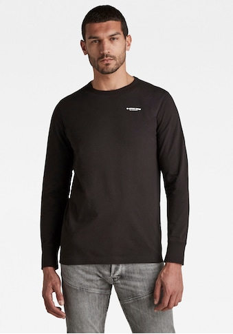 G-Star RAW Langarmshirt »Base l\s-Compact Jersey« kaufen