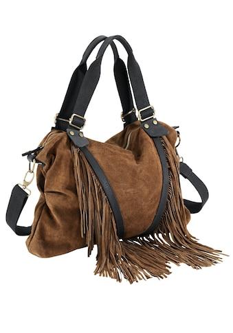 Tasche mit Fransen kaufen