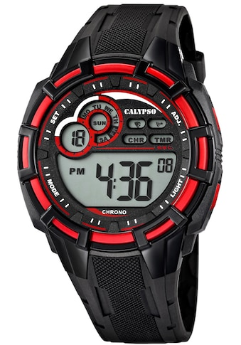 CALYPSO WATCHES Chronograph »Digital For Man, K5625/4« kaufen