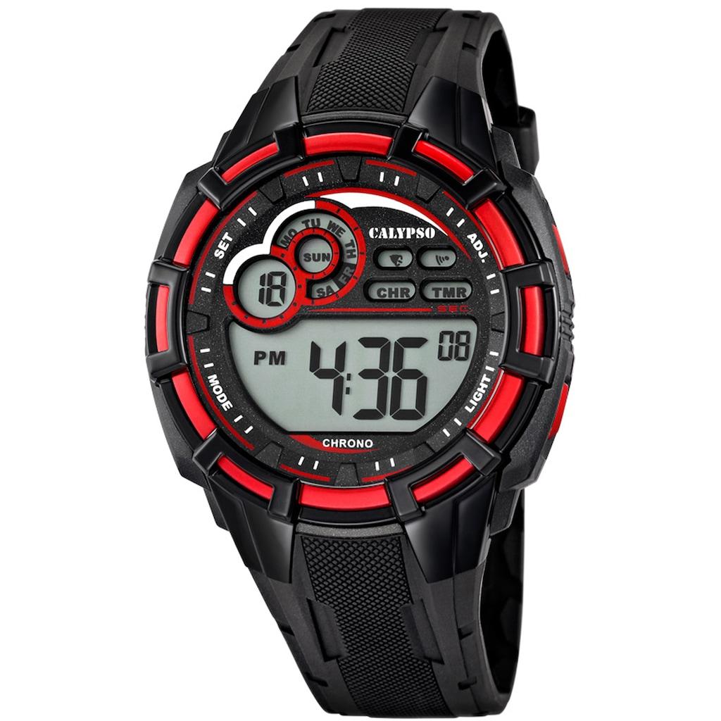 CALYPSO WATCHES Chronograph »Digital For Man, K5625/4«