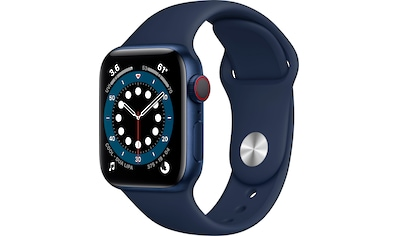 Apple Series 6, GPS + Cellular, OLED, Touchscreen, 32 GB, 40mm Watch (Watch OS 6) kaufen
