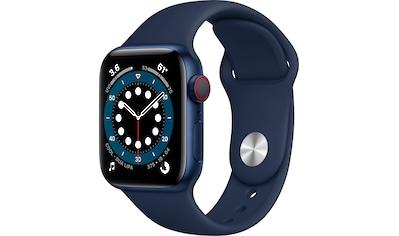 Apple Series 6 GPS + Cellular, Aluminiumgehäuse mit Sport Loop 40mm Watch (Watch OS 6) kaufen