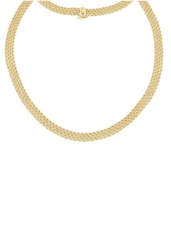 Firetti Goldkette »Kordelkette, 7,7 mm, glänzend, diamantiert, 4 - rhg.« kaufen