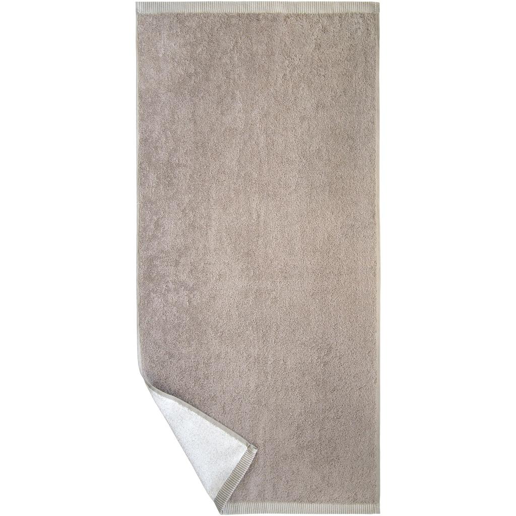 Dyckhoff Duschtuch »Nadelstreifen«, (1 St.), mit gemustertem Saumabschluss