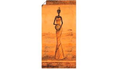Artland Wandbild »Afrikanische Eleganz III« kaufen