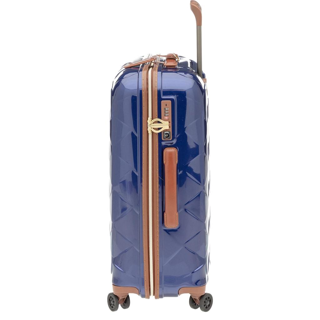 Stratic Hartschalen-Trolley »Leather & More, 76 cm«, 4 Rollen