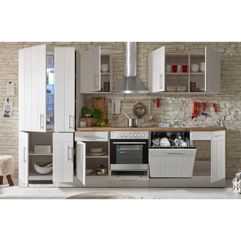 RESPEKTA Küchenzeile »Ulm«, mit E-Geräten, Breite 310 cm