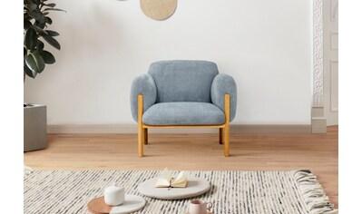 andas Sessel »Eik«, mit Holzfüßen kaufen