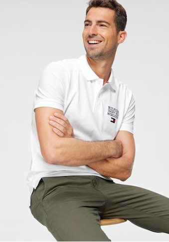 TOMMY HILFIGER Poloshirt »HILFIGER ARTWORK REGULAR POLO« kaufen