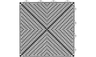 Bergo Flooring Klickfliesen-Eckleiste, für Kunststofffliesen in Anthrazit kaufen