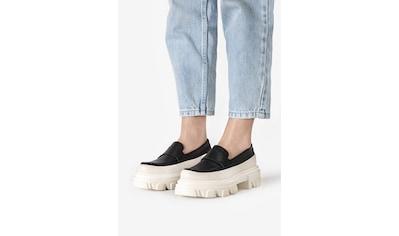INUOVO Slipper »Leder/Fell« kaufen