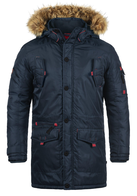 Solid Winterjacke Betto   Bekleidung > Jacken > Winterjacken   Blau   Solid