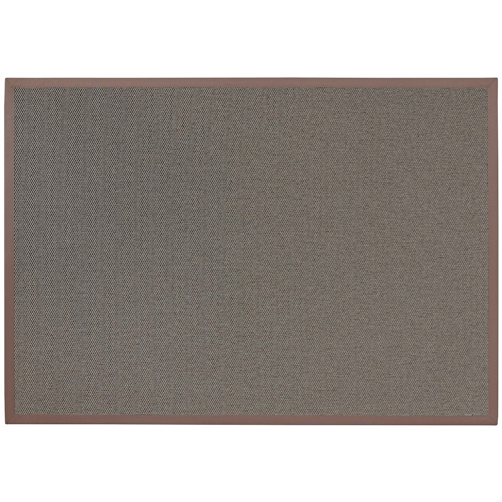 Dekowe Teppich »Naturana Panama«, rechteckig, 8 mm Höhe, Flachgewebe, Sisal-Optik, mit Bordüre, Wohnzimmer