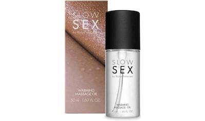 Bijoux Indiscrets Gleit- & Massageöl »Warming massage oil- Slow Sex«, mit Wärmewirkung kaufen