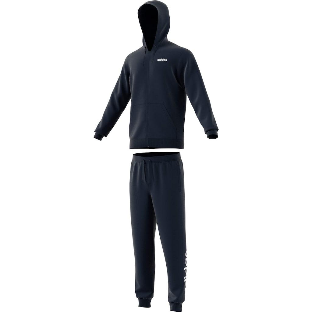 adidas Performance Trainingsanzug »LINEAR FRENCH TERRY«, (Set, 2 tlg.)