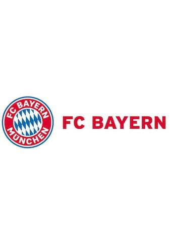 Wall-Art Wandtattoo »FCB München Logo + Schriftzug« kaufen