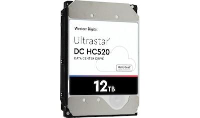 Western Digital HDD-Festplatte »Ultrastar DC HC520, 512e Format, SE«, Bulk kaufen