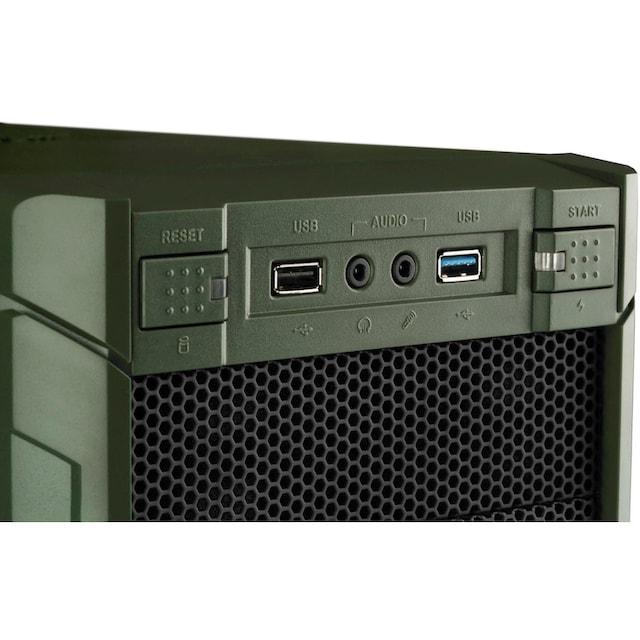 Hyrican »Military Gaming 6399« Gaming-PC (AMD, Ryzen 5, RTX 2070 SUPER, Luftkühlung)