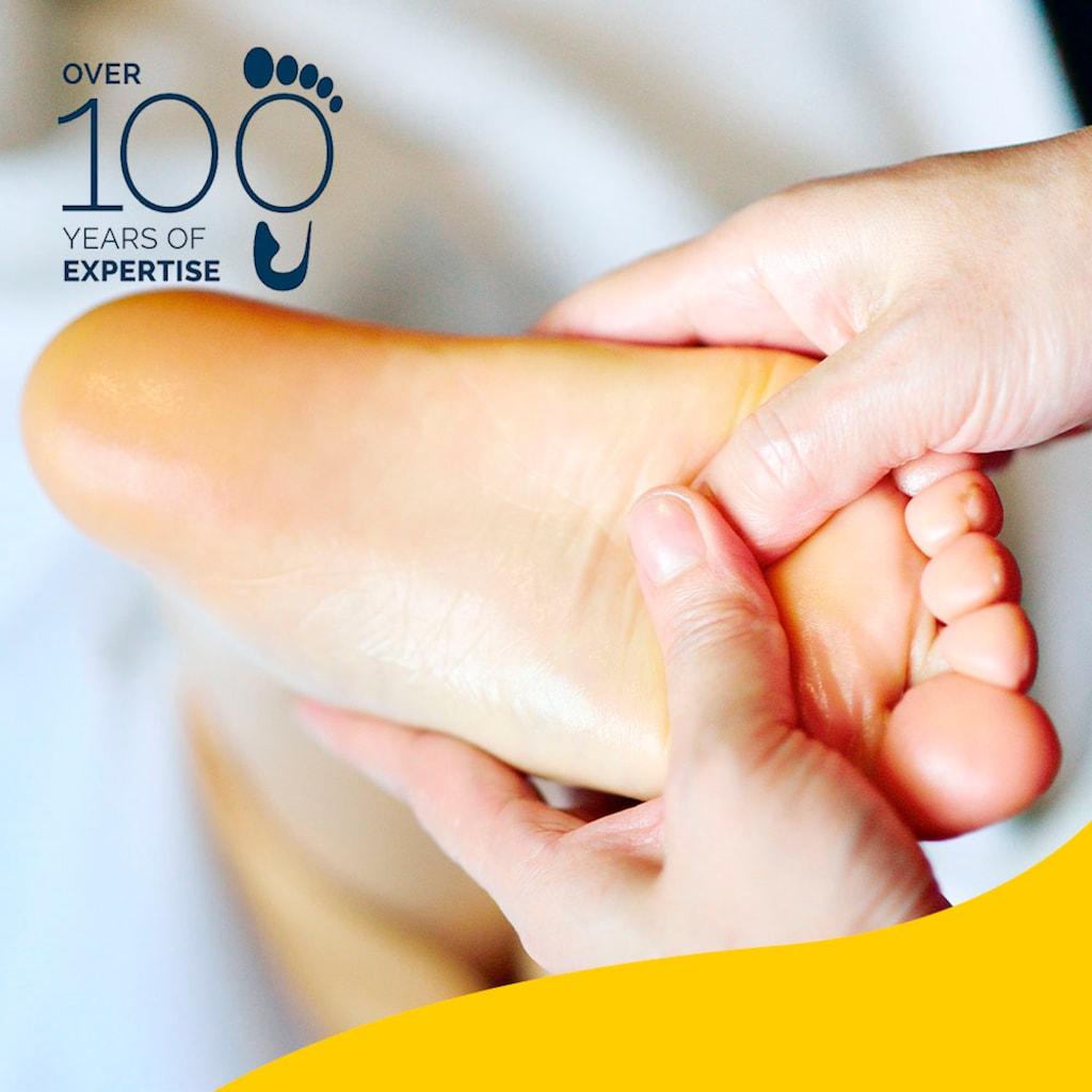 Scholl Fußpflegecreme »Reichhaltige Fuß- und Nagelcreme«, (Spar-Set, 6 tlg.), Für raue Füße