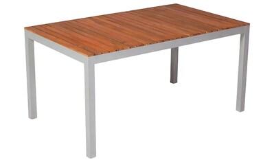MERXX Gartentisch »Monaco«, Akazienholz, 150x90 cm, braun kaufen