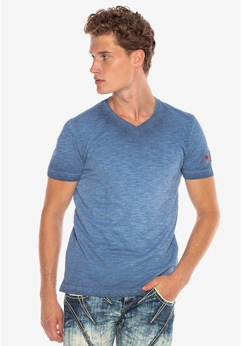 Cipo & Baxx T-Shirt, mit kleinem Logo-Patch kaufen