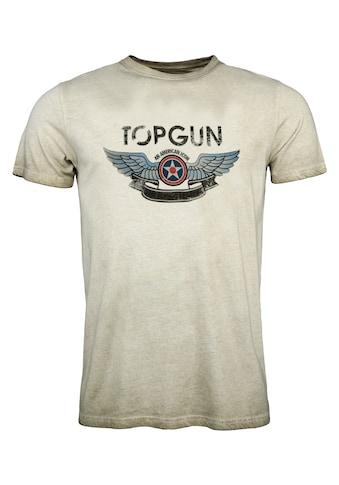 TOP GUN T-Shirt »Construction«, sportlicher Schnitt kaufen
