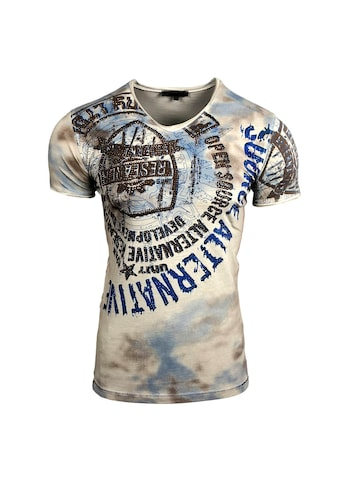 Rusty Neal T - Shirt mit auffälligem Print kaufen