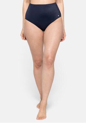 Sheego Bikini-Hose, in High-Waist-Form, Mix & Match kaufen