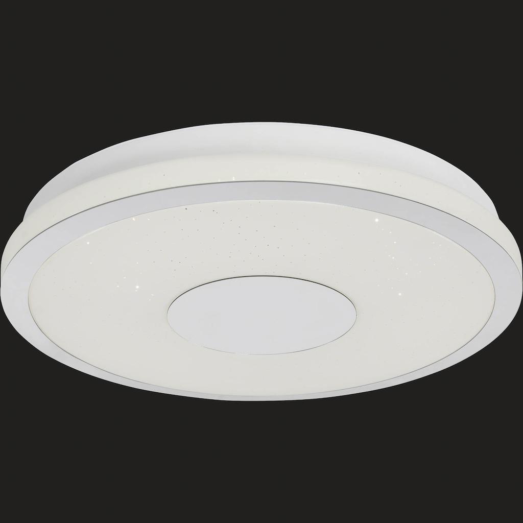 AEG Sib LED Deckenleuchte 38cm weiß/chrom